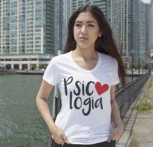 T-Shirts Cursos Camisetas Cursos Baby Look Cursos Tee Cursos Curso Psicologia