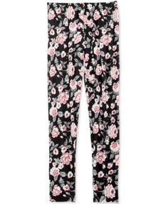 Epic Threads Floral-Print Leggings, Big Girls (7-16), Only at Macy's   macys.com
