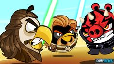 This fight is classic :)  https://itunes.apple.com/us/app/angry-birds-star-wars-ii/id645859810?mt=8&at=10laCC