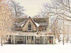 Old farmhouse/ Sepia Scenes - Love the window!