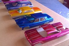 Kandy Model Cars , painted by Tru?I painted the first one. Car Paint Jobs, Custom Paint Jobs, Lowrider Model Cars, Model Cars Building, Hobby Cars, Truck Scales, Plastic Model Cars, Diy Car, Car Painting