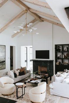 Living Room Modern, Home And Living, Living Room Decor, Living Spaces, Living Rooms, Living Room Inspiration, Interior Design Inspiration, Design Ideas, Interior Ideas