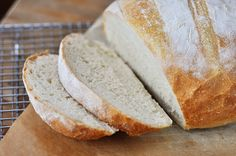 Mel's Kitchen Cafe | Rustic Crusty Bread {A Simple How-To} - perfect for Paninis