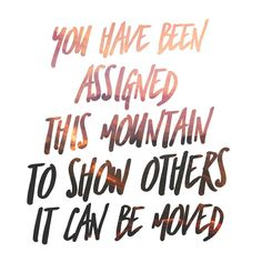 """41 Likes, 1 Comments - Alexandra Senske (@trop_aqua_wellness) on Instagram: """"We all have mountains, some big, some small. You are the only one capable of moving yours. Do you…"""""""