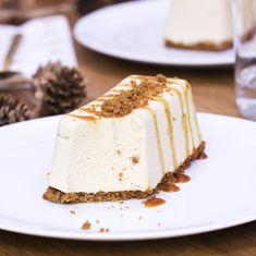 Impressionnez vos convives avec la bûche caramel au beurre salé et spéculoos