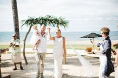 Josh & Kelly's stunning Hilton Fiji wedding is now live on @bulabride . . ** LINK TO WEDDING VIDEO IN PROFILE *** Location  Photography | @leezettphotography Videography | Ian Tyley Media Setup | @gracecreationsfiji Table Runners & Napkin Rings | @rbtr2015 Brides Dress | 'Josie' @kwhbridal #kwhjosie Brides Shoes | Custom @ShoesofPrey Jewellery | @samanthawillsbridal Hair Piece | @boandlucags Hair & Makeup | @team_perfectionists Cake Topper | @communicakeit Reposted Via @kwhbridal