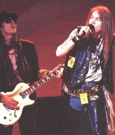 Guns N` Roses - 1989 American Music Awards, January 30, 1989.