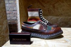 Dr. Martens for Pendleton Boot and Shoe for Spring 2014 1
