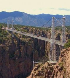 Royal Gorge Bridge and park - Canon City, Colorado If we decided to go south to Mesa Verde from Denver