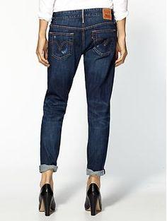 Boyfriend Lonny jeans | Boyfriend jeans, Leather and Jackets