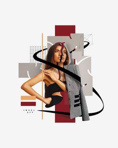 "I'm Marco Vannini ""Mavantri"", a digital collage artist and designer born in Venezuela currently based in Taggia, IT. Graphic Design Trends, Graphic Design Layouts, Graphic Design Posters, Graphic Design Inspiration, Fashion Portfolio Layout, Portfolio Design, Collage Magazine, Photomontage, Site Web Design"