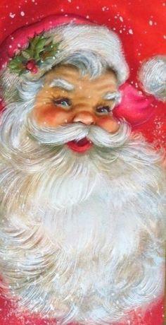Vintage Vater Weihnachten Source by Christmas Scenes, Santa Christmas, Winter Christmas, Christmas Villages, Father Christmas, Blue Christmas, Christmas Ornaments, Illustration Noel, Christmas Illustration
