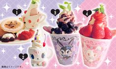 Jewel pet cafe again! Umeda Hankyu Jewelpet LADY CAFE (Jewel Pet Lady Cafe)   News   Sanrio