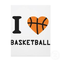 I don't know how to Pinterest, bu it's true that I ❤ basketball. Repin?