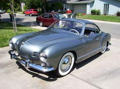 1963 Volkswagen Karmann Ghia - Now this is one cool car that I would love to own!