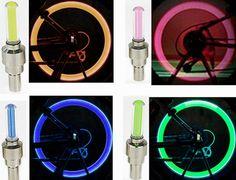 자전거 새로운 자전거 조명 설치할 자전거 휠 타이어 밸브 자전거 액세서리 자전거 Led 자전거 환승 액세서리 빛