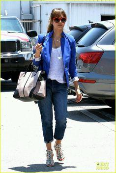 Jess jacket azul