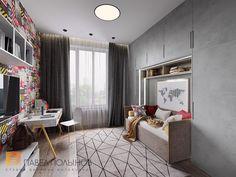 Фото детская комната из проекта «Дизайн квартиры в современном стиле, ЖК «Смольный парк», 175 кв.м.»