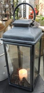 Lead Lantern. Comes in two sizes from Le-Monde