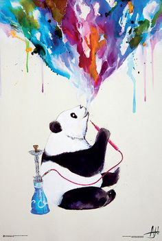Chai Panda by Marc Allante Poster Kunst Poster, Poster S, Print Poster, Painting Frames, Painting Prints, Art Prints, Canvas Wall Art, Canvas Prints, Framed Prints