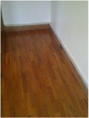 Red oak gunstock stain traditional hardwood floor for Hardwood floors knoxville