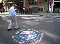 Street Decal and Chalk Marketing - New York City - ALT TERRAIN Alternative Outdoor Advertising Company by ALT TERRAIN, via Flickr
