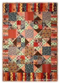 Quilting Inspiration - Rostislav's Quilt