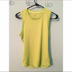 Lime Green C9 Tank Top Lime Green C9 Tank Top. No damages or stains, barely worn. Shirt is a slightly brighter green than shown in the pictures. C9 Tops Muscle Tees