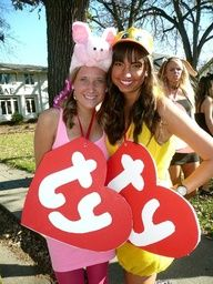 CLs Sorority Girl Inspired DIY Halloween Costumes! :College Lifestyles Taylor and I have got to try this