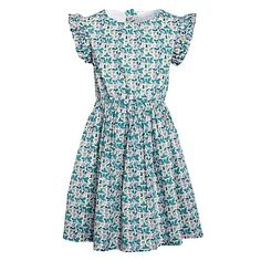 Buy John Lewis & Partners Girls' Frilly Floral Print Dress, Multi, 3 years from our Girlswear Offers range at John Lewis & Partners. Annie Costume, Girls Dresses, Summer Dresses, Gathered Skirt, John Lewis, Pretty Dresses, Floral Prints, Short Sleeve Dresses, Comfy
