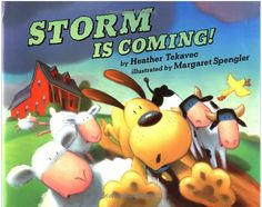 Literacy Spark: Mentor Text for Making Inferences {Storm is Coming}