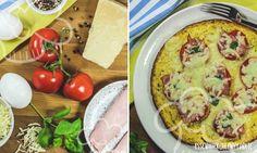 Käse-Tomaten-Omelette