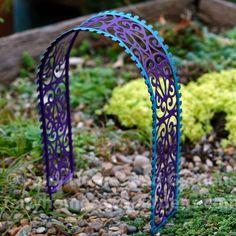 Fairy Homes and Gardens -  Fairy Garden Filigree Arbor, $8.40 (http://www.fairyhomesandgardens.com/fairy-garden-filigree-arbor/)
