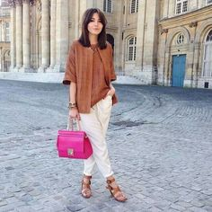 Casual outfit in Paris