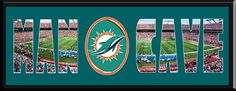 MAN CAVE - Personalized Framed Miami Dolphins Team Logo & Sun Life Stadium Large Panoramic Showing In Background With MANCAVE Letters Cut Out & Team Logo In Center-Framed Awesome & Beautiful-Must For Any Fan! Art and More, Davenport, IA http://www.amazon.com/dp/B00KPO9GJ2/ref=cm_sw_r_pi_dp_5isEub01B8EW7