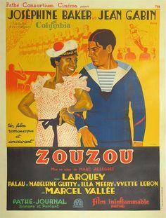 Zou Zou poster 1934