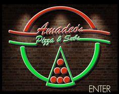 Amadeos Pizza Logo