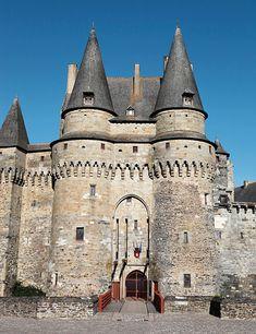 Château de Vitré l'entrée du châtelet