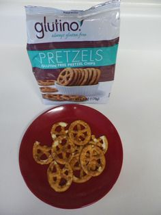 Glutino Gluten Free Pretzel Chips Review - * These are not even on the market yet* We won a Glutino Facebook contest and they sent us some to try! So exciting!