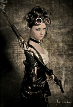 superbe portrait de Fashion Steampunk par www.jaramatography.com