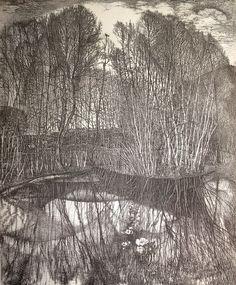 stanislaw nikireev - etching