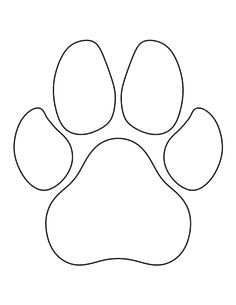 Dog Paw Print Template is creative inspiration for us. Get more photo about diy . - Craft - Dog Paw Print Template is creative inspiration for us. Get more photo about diy home decor related - Pattern Art, Print Patterns, Felt Patterns, Dog Pattern, Free Applique Patterns, Sewing Patterns, Animal Patterns, Sewing Appliques, Quilting Patterns