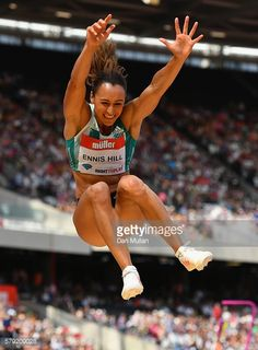 LONDON, ENGLAND - JULY 23: Jessica Ennis-Hill of Great Britain... #ennis: LONDON, ENGLAND - JULY 23: Jessica Ennis-Hill of Great… #ennis
