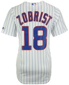 ea1da190b Majestic Men Ben Zobrist Chicago Cubs Player Replica Cb Jersey