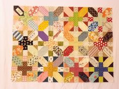 LauraJSews' scrappy blocks! @Cara White, this is the pattern I'm obsessed with right now!