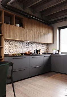 Narrow Kitchen Remodel Bookshelves small kitchen remodel with laundry.Small Kitchen Remodel With Laundry. Ikea Kitchen Design, Modern Kitchen Design, Kitchen Colors, Interior Design Kitchen, Kitchen Decor, Kitchen Ideas, Kitchen Inspiration, Kitchen Designs, Modern Design