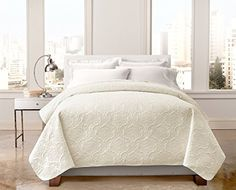 Amazon.com: Regal Home Bedspreads   Quilts With Modern Box Stitch Design    Full