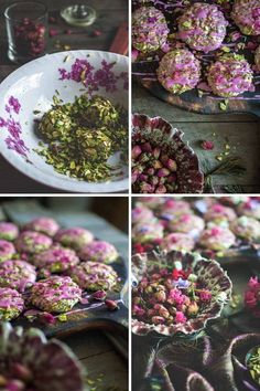 You've heard of Persian love cake, but have you tried Persian love cookies? These little things are almost to beautiful to eat! Arabic Sweets, Arabic Food, Arabic Dessert, Ramadan Sweets, Ramadan Recipes, Persian Desserts, Persian Recipes, Iranian Desserts, Patisserie Fine