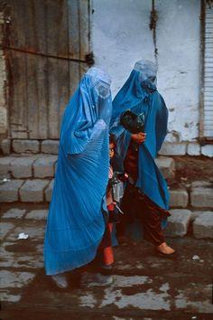 Madres de Afganistán.