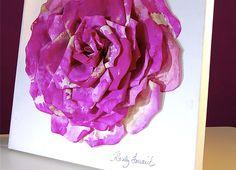 Que tal inovar na decoração da sua casa de forma econômica e ainda por cima sustentável? Veja como fazer uma flor de parede com filtro de café. - Veja mais em: http://www.vilamulher.com.br/artesanato/galeria-de-ideias/flor-de-parede-feita-com-filtro-de-cafe-m0315-700563.html?pinterest-destaque